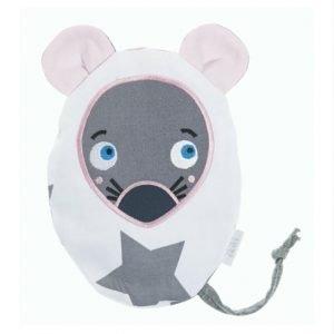 Traubenkernkissen Maus