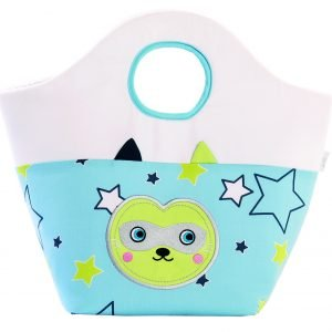Pflege-Spielzeugtasche Waschbär