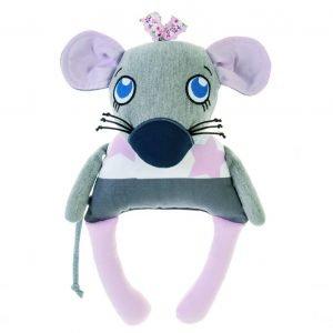 Kuscheltier Maus Rosa