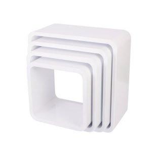 Cube Regale, 4er Set (quadratisch)