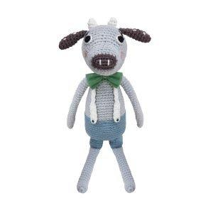 Häkel-Tier Kuh Carl
