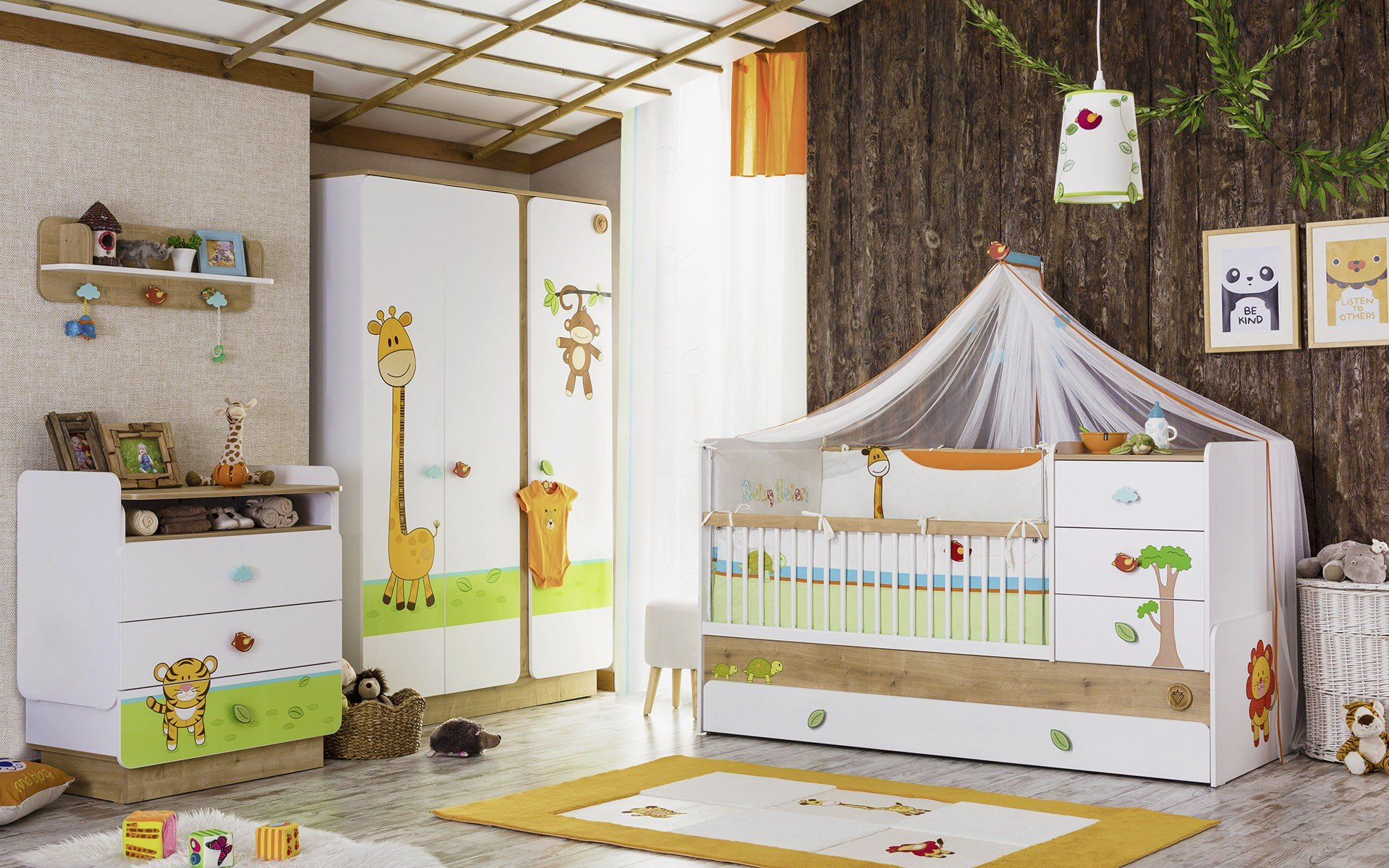 lassen sie die natur in das babyzimmer herein jetzt lesen. Black Bedroom Furniture Sets. Home Design Ideas