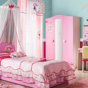 Roommates Wandsticker Princess Zimmer-Set