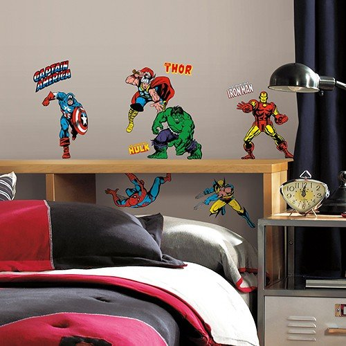 Roommates Wandsticker DISNEY Marvel Helden Comic