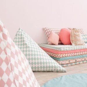 Essaouira zigzag pink