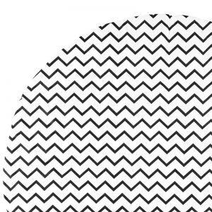 Apache zigzag schwarz