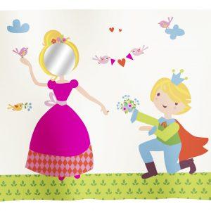 "Flexa Spielvorhang ""Prinzessin"" 3-teilig"