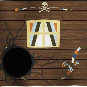 "Flexa Spielvorhang ""Pirat"" 3-teilig"
