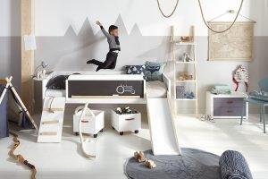 4 in 1 bett f r treue kinder panda kinderm bel. Black Bedroom Furniture Sets. Home Design Ideas