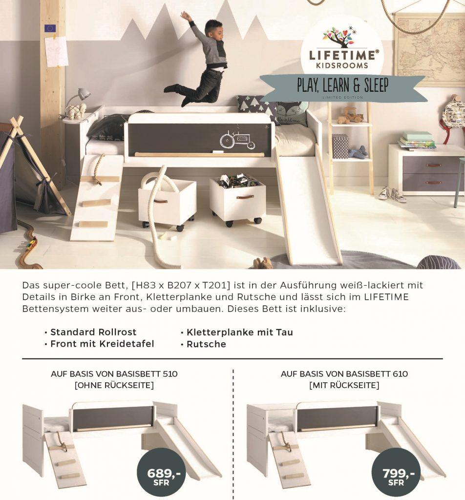 2395 limited edition bett mit rutsche und planke 952x1024 panda kinderm bel. Black Bedroom Furniture Sets. Home Design Ideas
