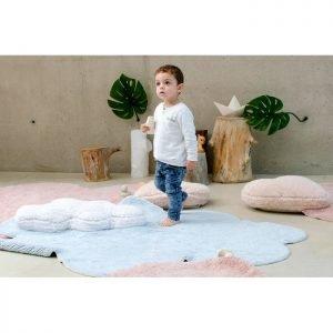 Lorena Canals Kinderteppich Puffy Dream Blau 3