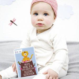 Milestone Baby Erinnerungskarten 6