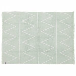Lorena Canals Hippy Kinderteppich Soft Mint