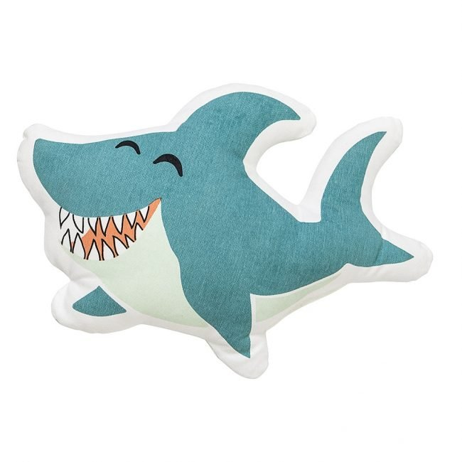 Charmant Kinderkissen Haifisch · Deko Kissen