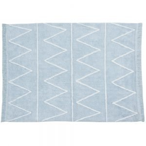 Lorena Canals Hippy Kinderteppich Soft Blau