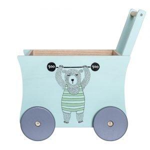 Bloomingville Spielzeug Schiebewagen 1