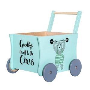 Bloomingville Spielzeug Schiebewagen 3