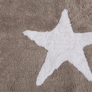 Teppich Three Stars Linen Weiss 2