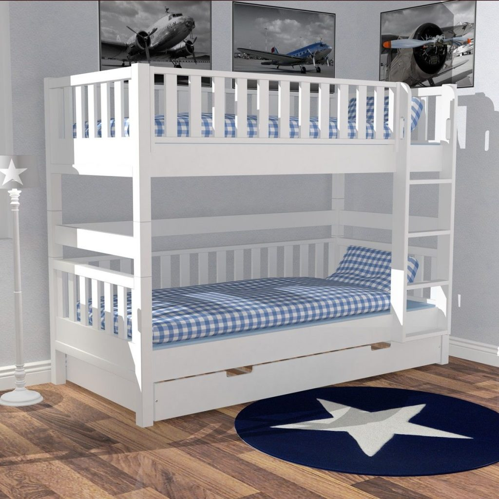 panda kinderm bel pr sentiert etagenbett im skandinavischen stil. Black Bedroom Furniture Sets. Home Design Ideas