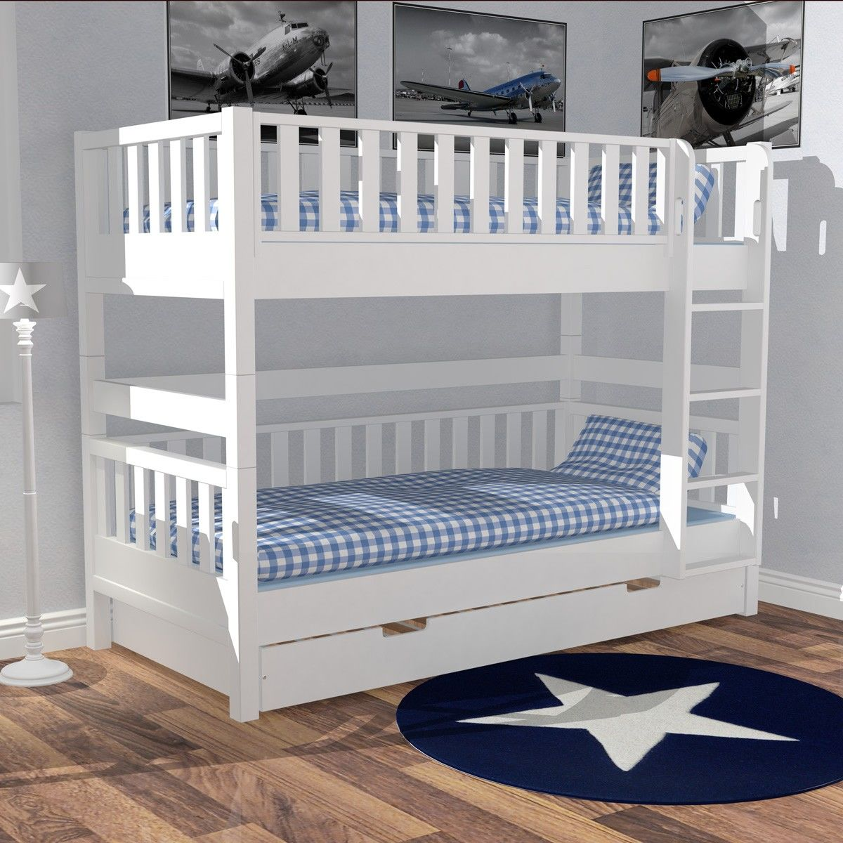 panda kinderm bel pr sentiert etagenbett im. Black Bedroom Furniture Sets. Home Design Ideas