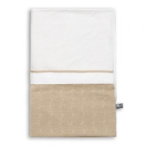 Baby`s only Bettbezug 100x135cm cable weiss beige