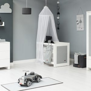 Baby`s only Babyzimmer in grau
