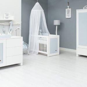 Baby`s only Babyzimmer mit babyblau Zubehör