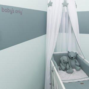 Baby`s only Betthimmel weissmintgrün 1