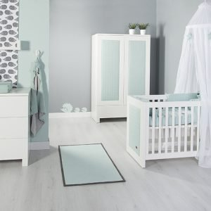 Baby`s only Bettnest cable klassisch mint