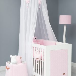 Baby`s only Bettnest cable klassisch rosa