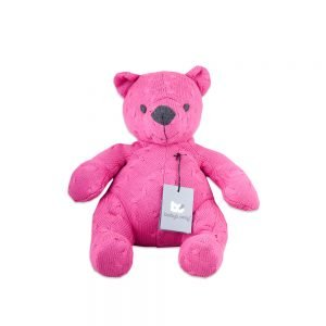 Baby`s only Bär cable fuchsia