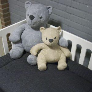 Baby`s only Bären cable beige und grau