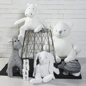 Baby`s only Stofftiere weiss