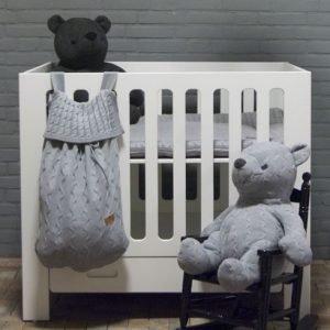 Baby`s only Bären cable grau und anthrazit