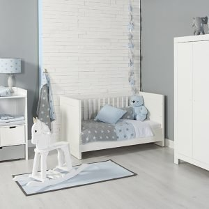 Baby`s only Bärenkopf cable babyblau