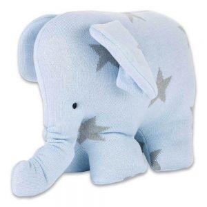 Baby`s only Elefant star blaugrau
