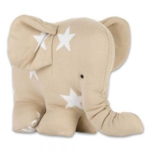 Baby`s only Elefant star beigeweiss