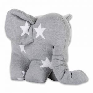 Baby`s only Elefant star grauweiss