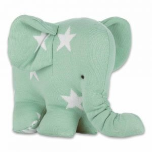 Baby`s only Elefant star mintweiss 1