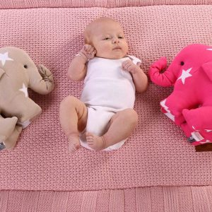 Baby`s only Elefant star rosaweiss