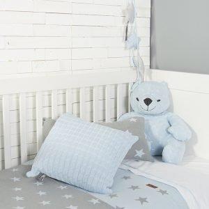 Baby`s only Kissen 40x40cm babyblau