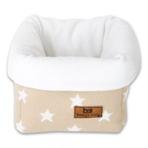Baby`s only Korb star beigeweiss