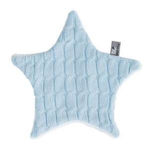 Baby`s only Kuscheltuch cable babyblau