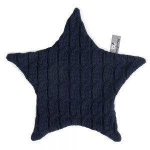 Baby`s only Kuscheltuch cable marineblau
