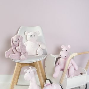 Baby`s only Stofftiere rosa und weiss