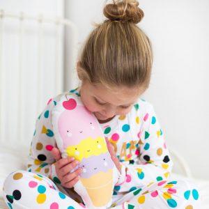 Ice Cream Cone Kissen