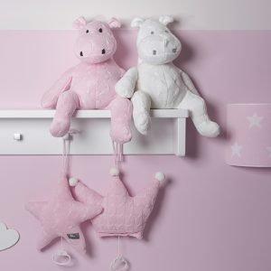 Baby`s only Spieluhren Krone und Stern babyrosa