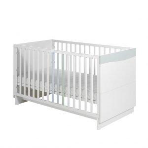 Wave Pastell Babyzimmer Bett