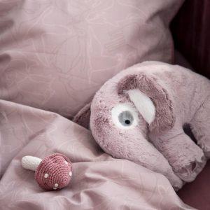Plüschtier Elefant Vintage Rose 2