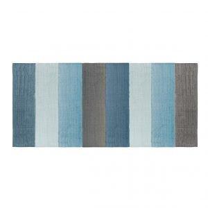 Teppich gewebt blau